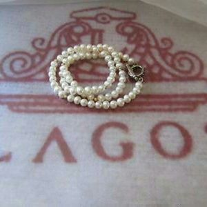 LAGOS Jewelry - Lagos Caviar Pearl 18k Gold Beads Necklace